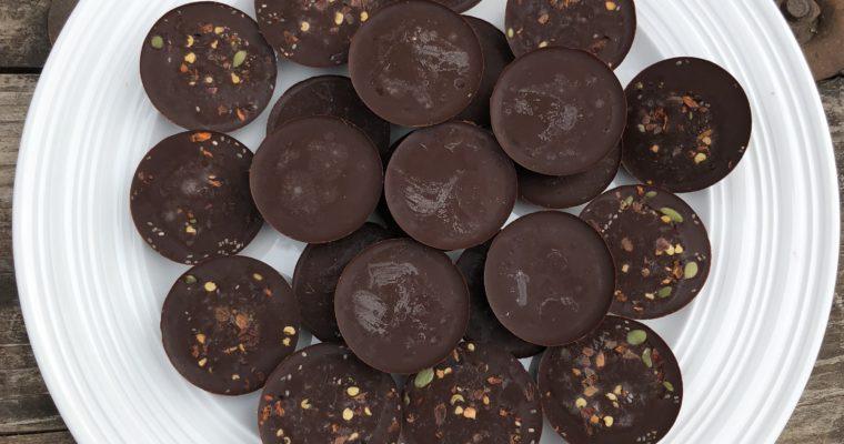 Bittersweet Paleo Keto Chocolates