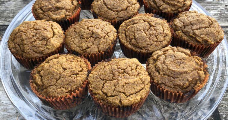Paleo Coconut Flour Pumpkin Muffins