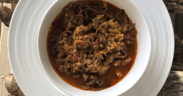 Instant Pot Chicken Chorizo Stew (Paleo & Keto Friendly)