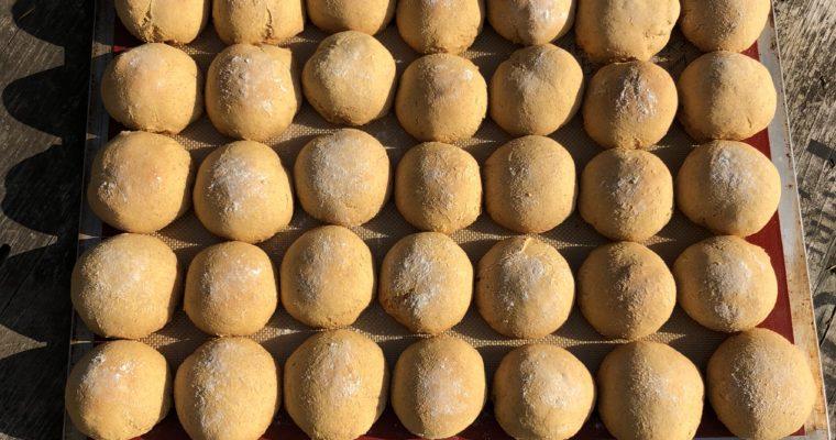 Sweet Potato Kefir Rolls (Ancient Grains, Nut-Free)