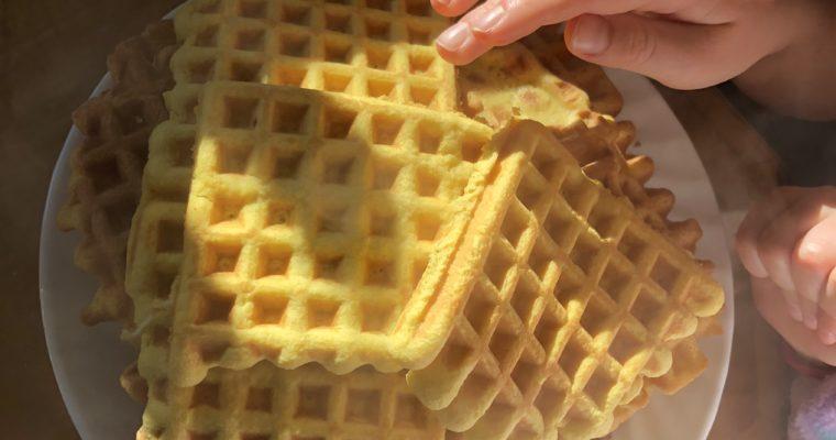 Coconut Flour Keto Waffles! (Paleo/Dairy Free Variations)