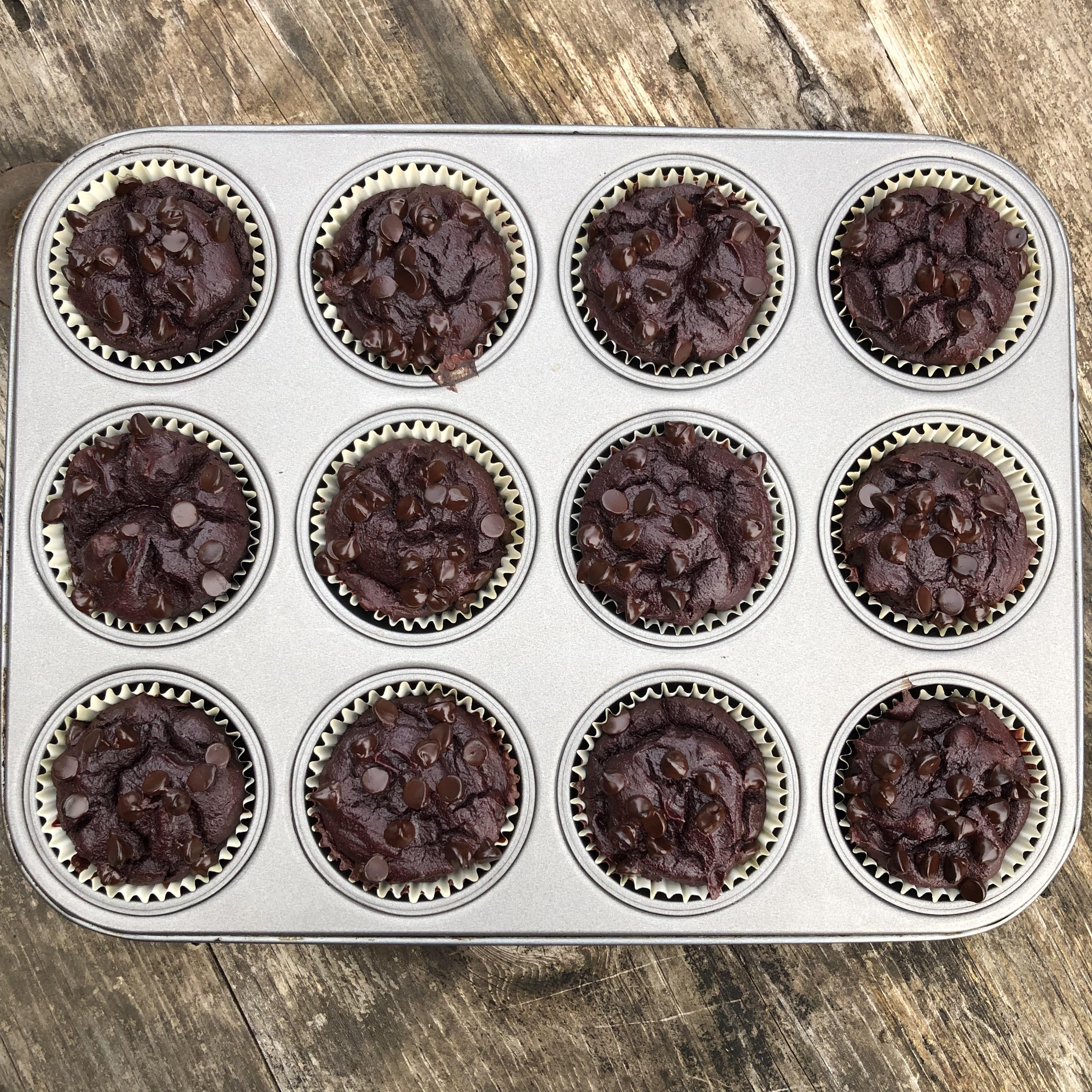 Chocolate Espresso Super Muffins, No Foolin' (Paleo, No Sugar)