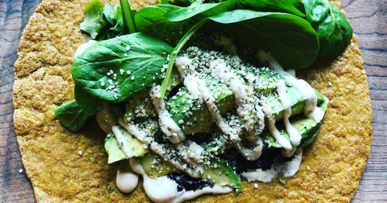 Secret Ingredient Keto Flaxseed Wraps!