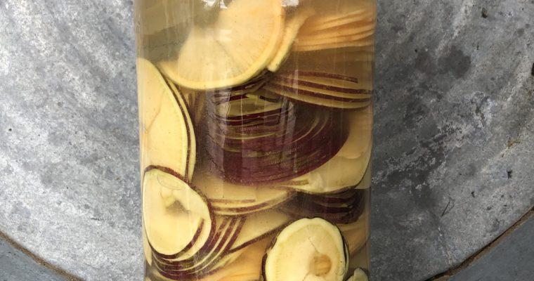 Cultured Swedish Turnips with Cloves (vegan, paleo, keto)
