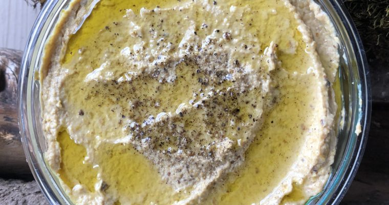 Cultured Yellow Squash Hummus (vegan, paleo, keto)