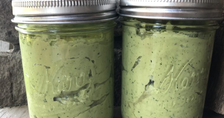 Cultured Kefir Guacamole (keto with vegan and paleo options)