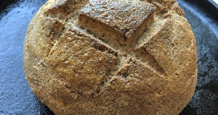 """Cultured """"Sourdough"""" Keto Bread"""