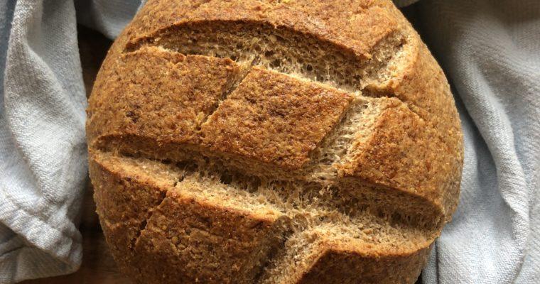 """Cultured Coconut """"Sourdough"""" Keto Bread"""