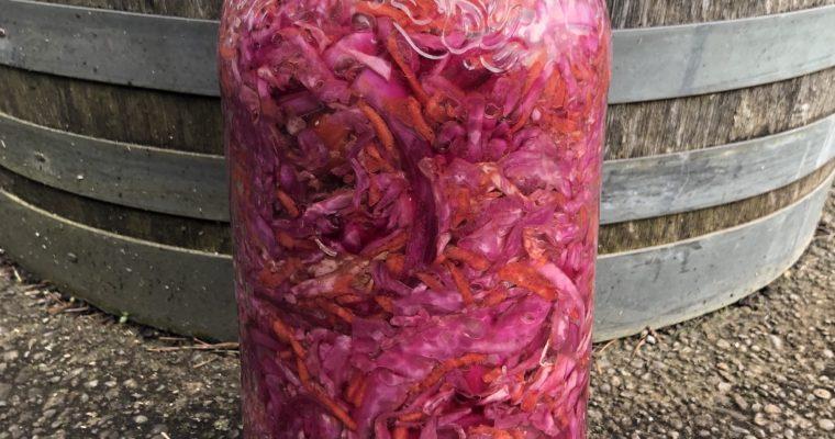 Salade De Chou Rosé (Cultured Pink Continental Coleslaw)