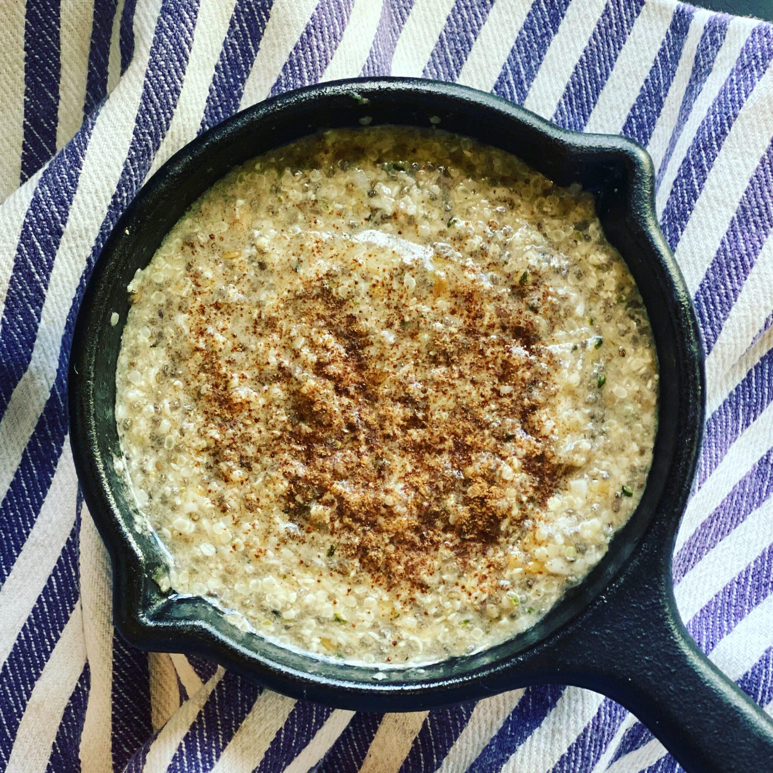 Chai Spice Hempseed Porridge (Nootropic, Keto, Vegan)