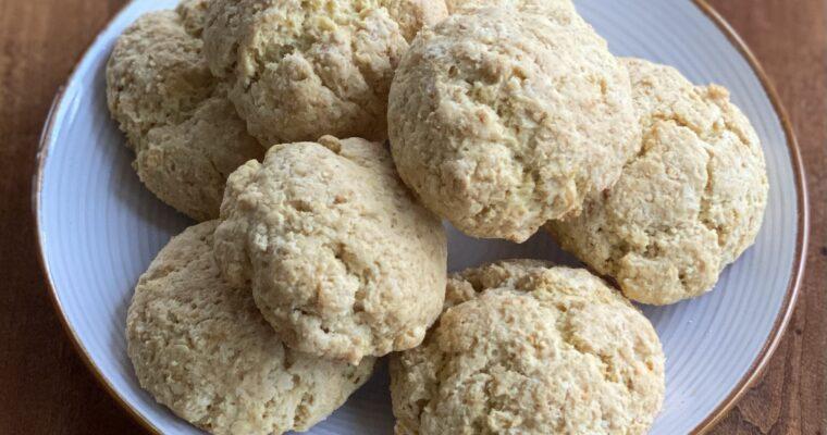 Einkorn Kefir Biscuits