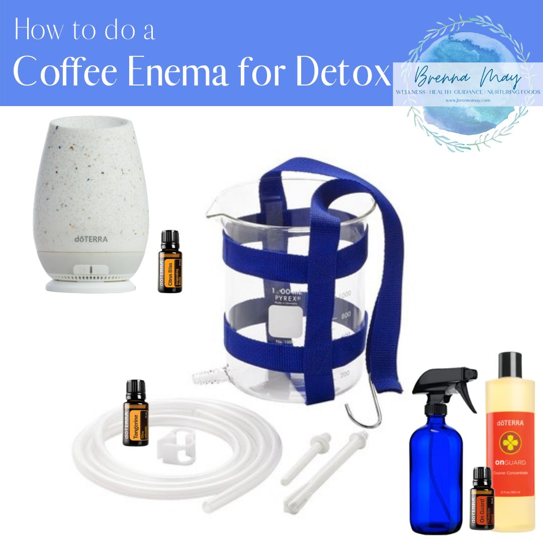 How to do a Coffee Enema for Detox